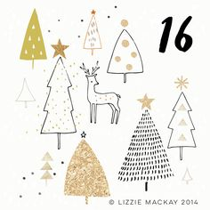 236x236 Recycled Christmas Tree Card