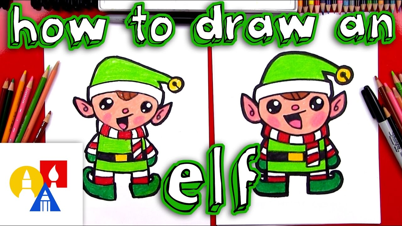 Christmas Elves Drawing At Getdrawings Com Free For