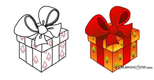 Christmas gift box drawing at getdrawings free for personal 540x280 gift boxes drawing negle Images