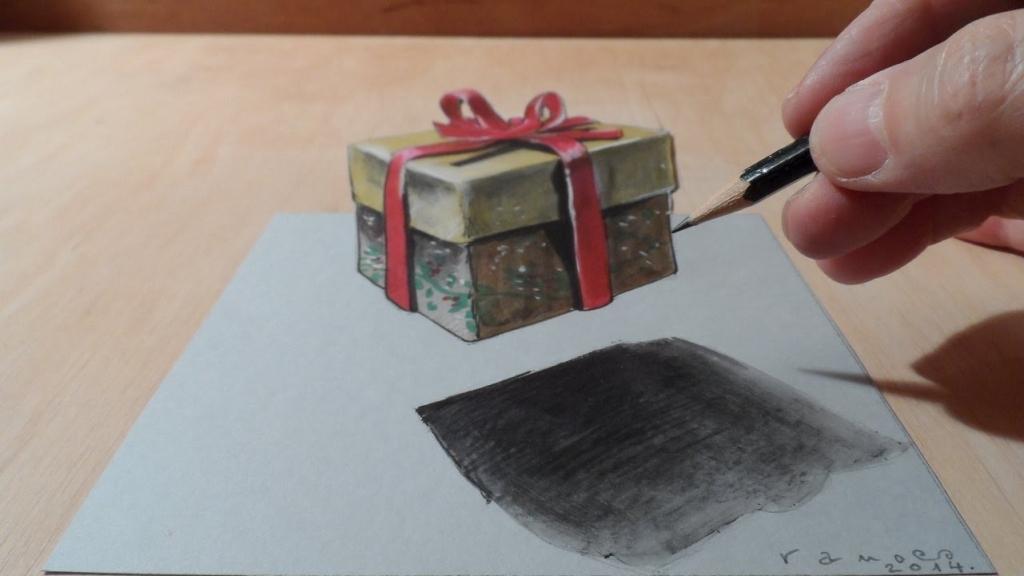 1024x576 Christmas Gift Drawings How To Draw Christmas Gifts Christmas