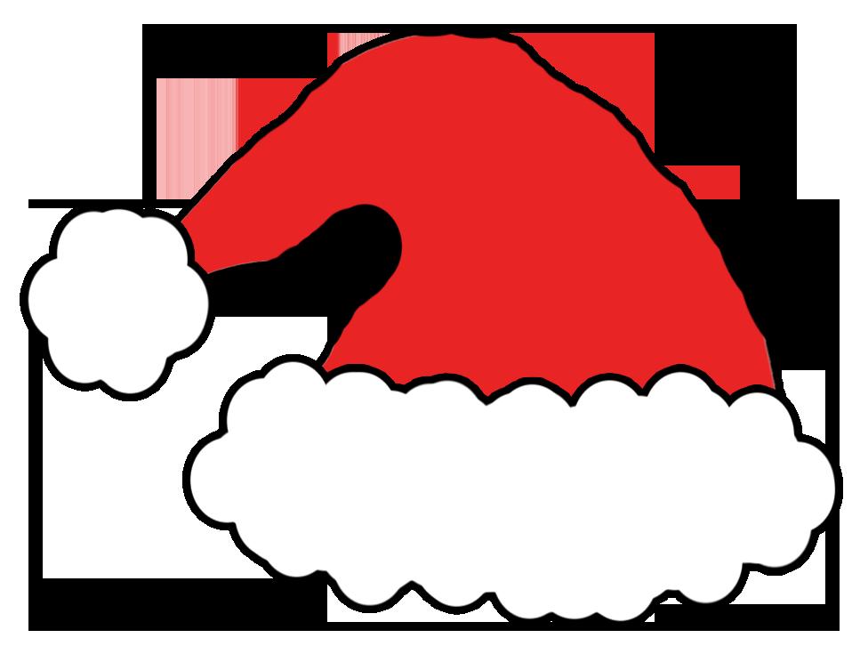 967x726 Santa S Hat Drawing Photo