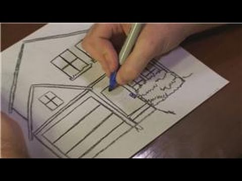 480x360 Drawing Lessons How To Draw A Christmas House