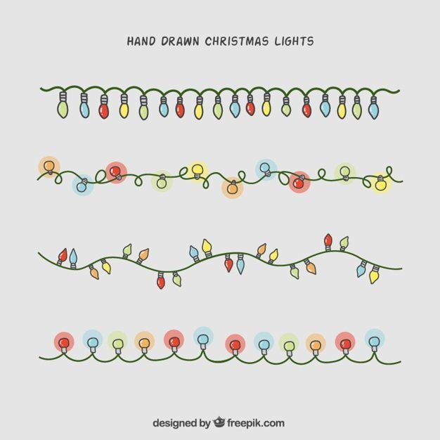 626x626 Best Christmas Lights Drawing Ideas On Easy