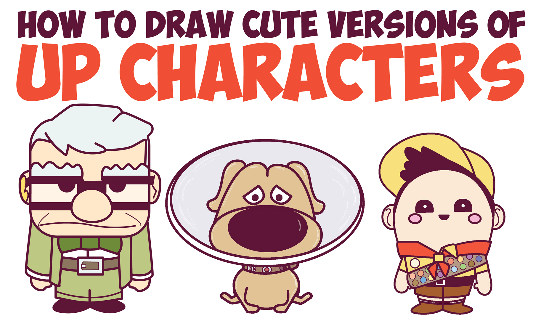 1800x1084 How To Draw Up Characters (Cute Chibi Kawaii) In Easy Steps
