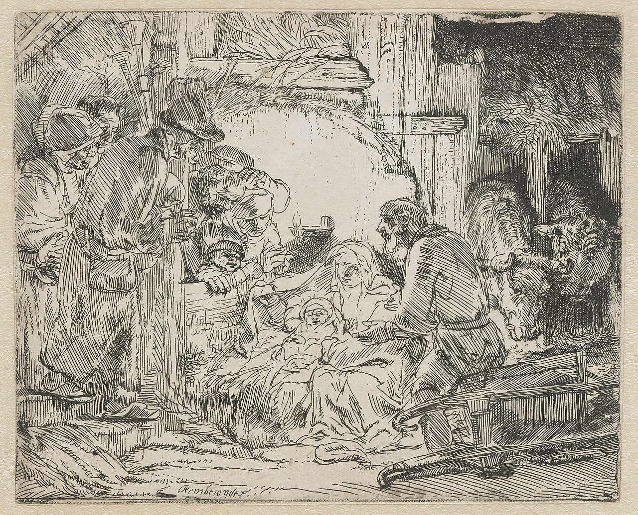 1280x1035 The Nativity Through Rembrandt's Eyes