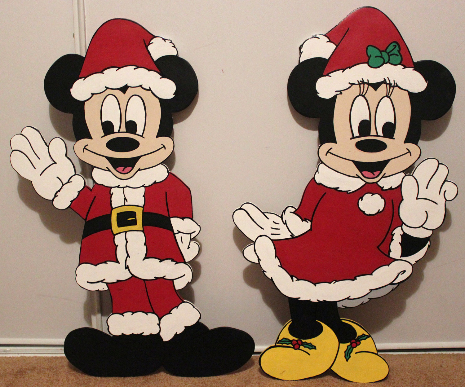 1500x1249 best mickey mouse christmas decorations yard opulent 24 disney