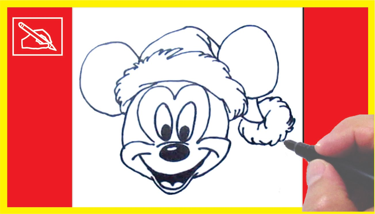 1304x744 Dibujar Un Mickey Mouse