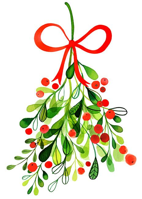 465x650 Christmas Tree Illustration By Margaret Berg Merry Merry