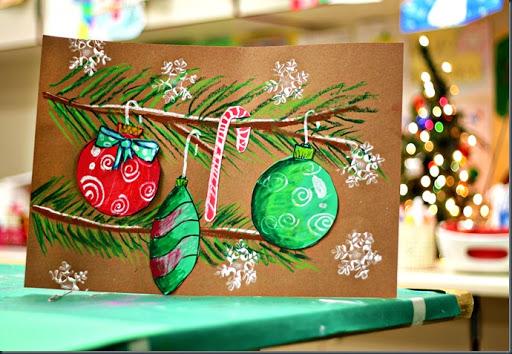 512x354 Smart Class Christmas Ornament Drawings