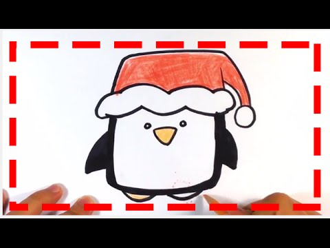 480x360 How To Draw Cute Penguin