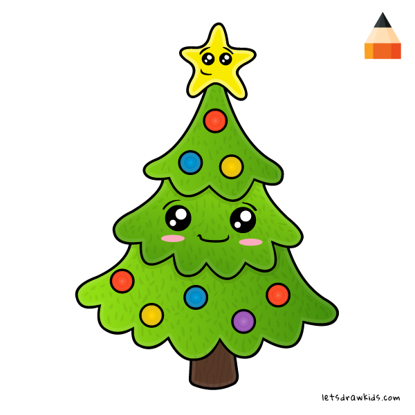 600x600 Christmas Drawing