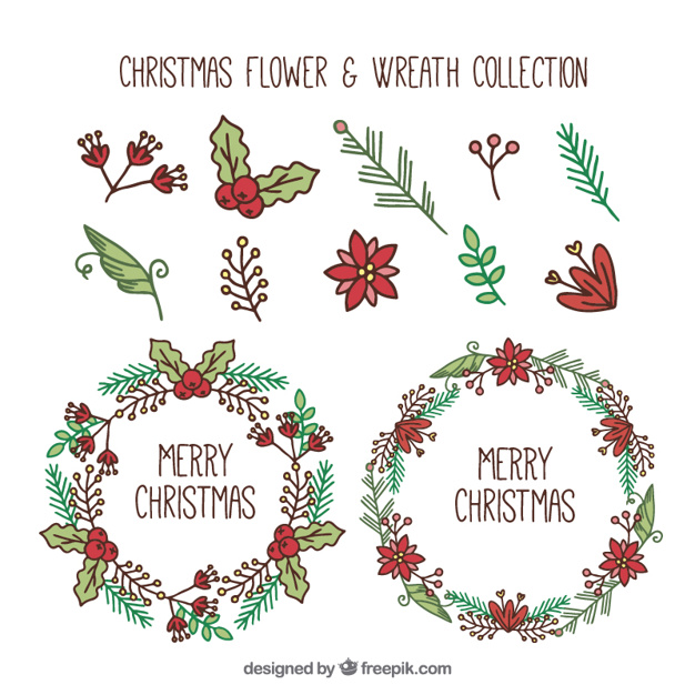 Christmas Wreath Drawing.Christmas Reef Drawing At Getdrawings Com Free For