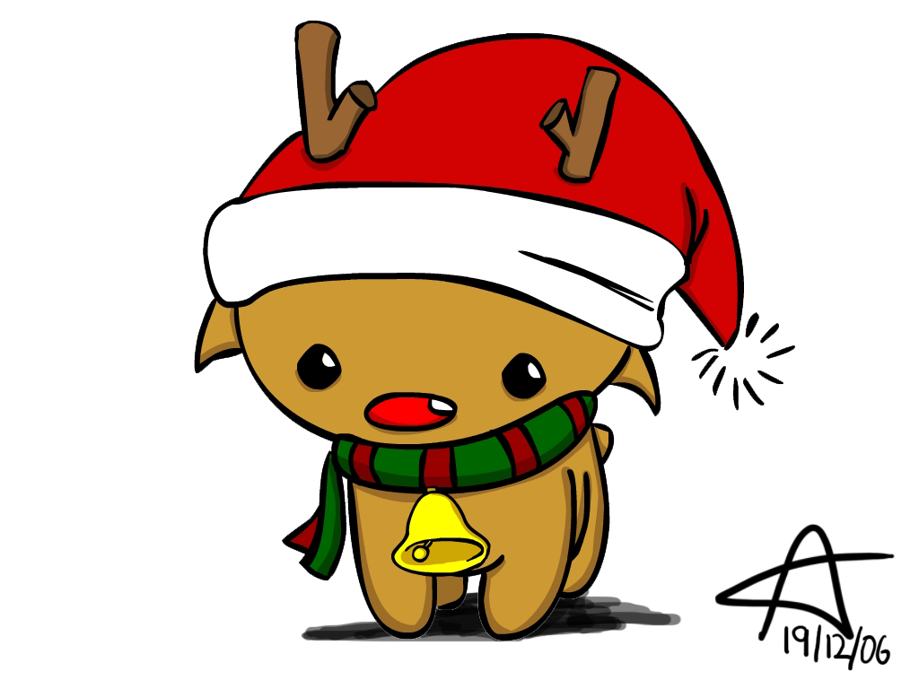 christmas reindeer drawing at getdrawings com free for personal