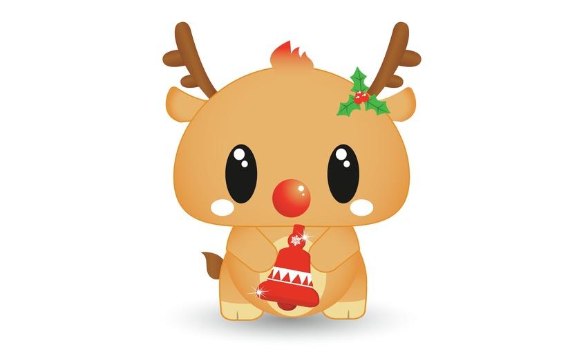 Cute Christmas Drawings.Christmas Reindeer Drawing At Getdrawings Com Free For