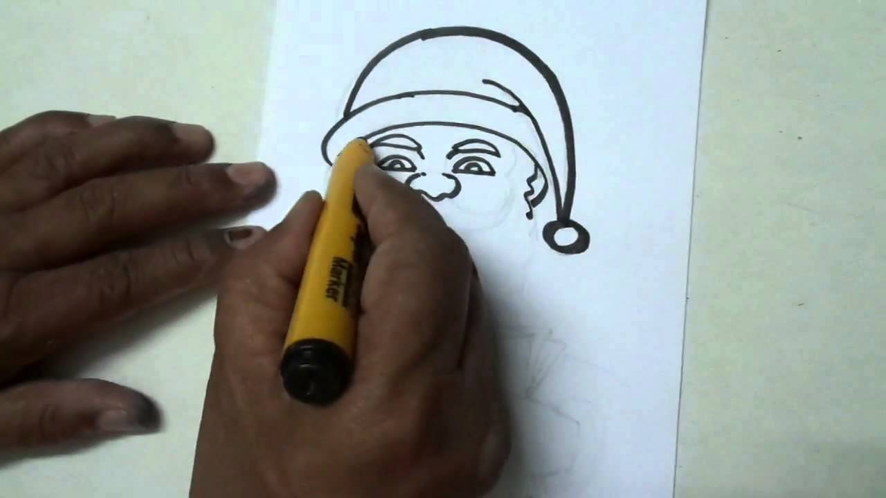 1280x720 How To Draw Christmas Scene