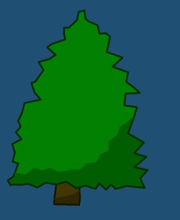 605x738 Decorate This Christmas Tree That I Made Bored Panda
