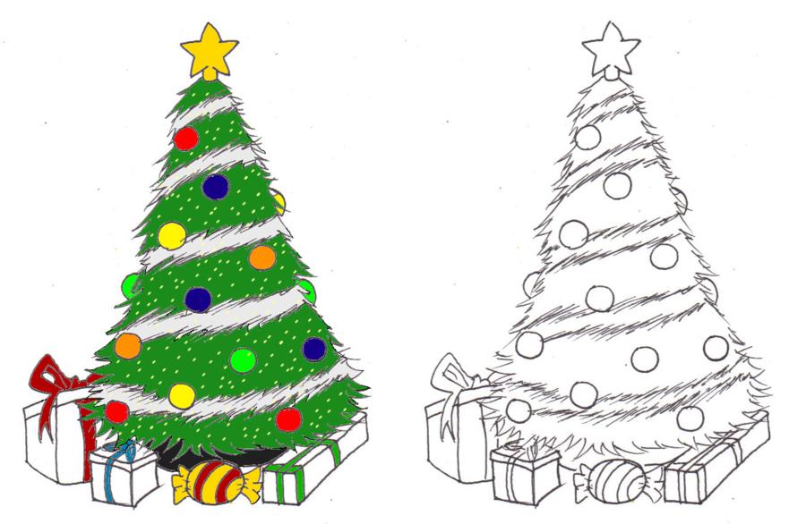 900x586 Christmas Tree By Buffalodude44