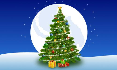 500x300 Premium Tutorial Christmas Tree