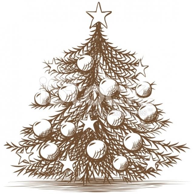 640x640 christmas tree pencil drawing christmas tree pencil drawing