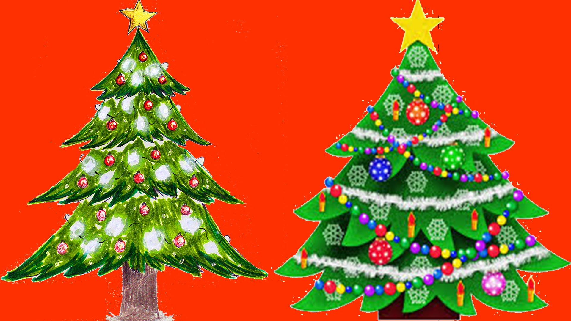 Christmas Tree Images Drawing at GetDrawings.com | Free for personal ...