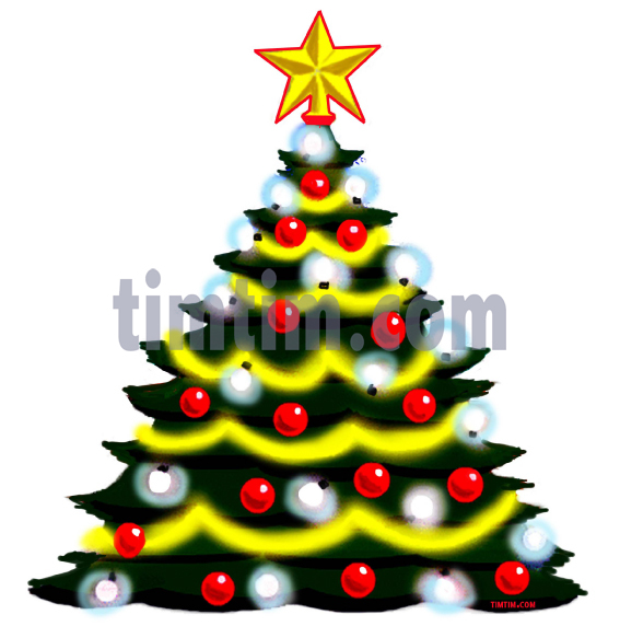 567x572 Free Drawing Of CHRISTMAS TREE From The Category Christmas