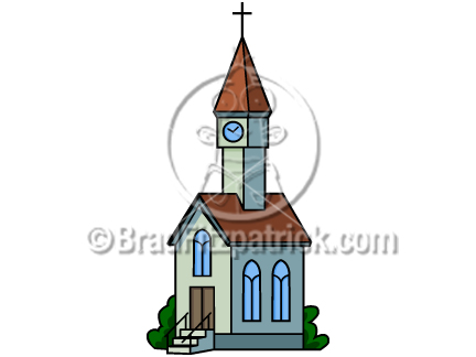 432x324 Cartoon Church Clip Art Church Clipart Graphics Vector Church Icon