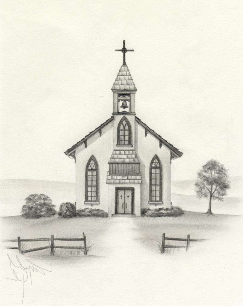 813x1024 Charch Pencil Sketching Church Pencil Drawing Pics Pencil Drawings