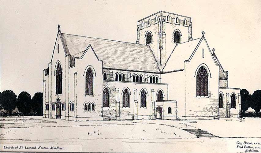 853x500 Church Amp History St Mary The Virgin (St Mary'S), Kenton.