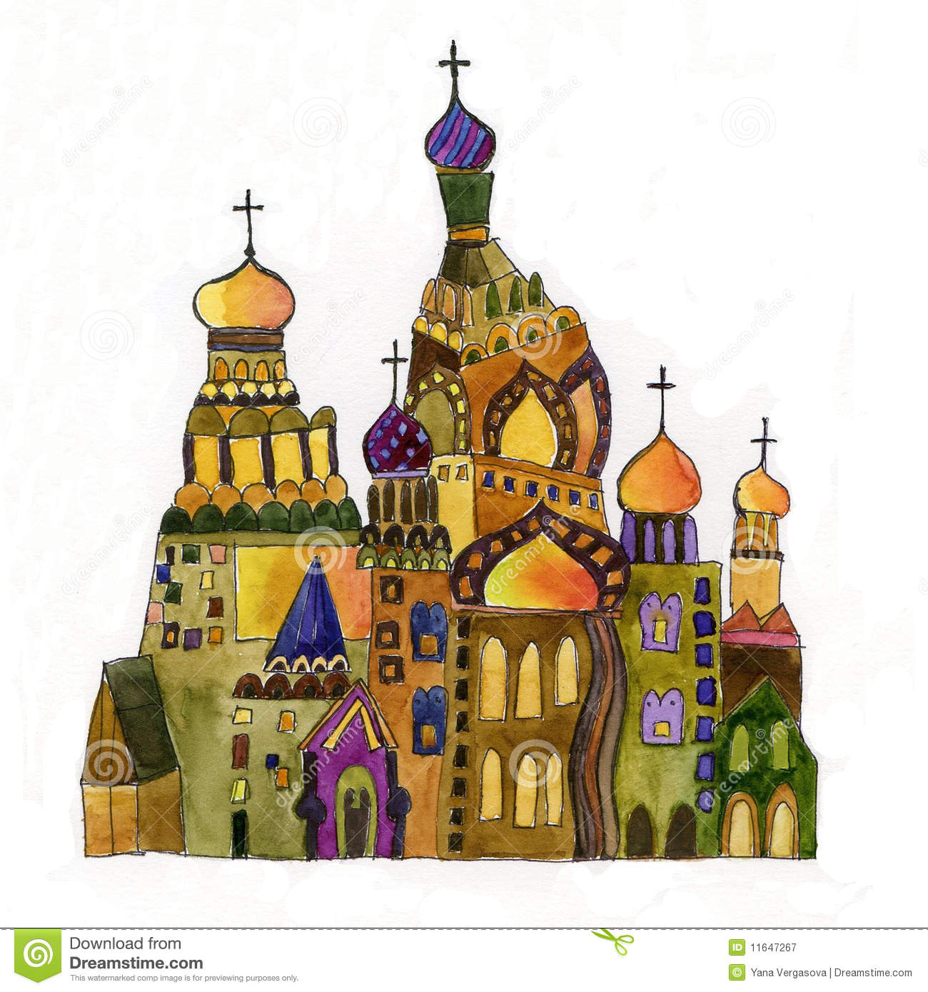 1300x1390 Russian Chur Hes Drawings Russian Church Drawing On White