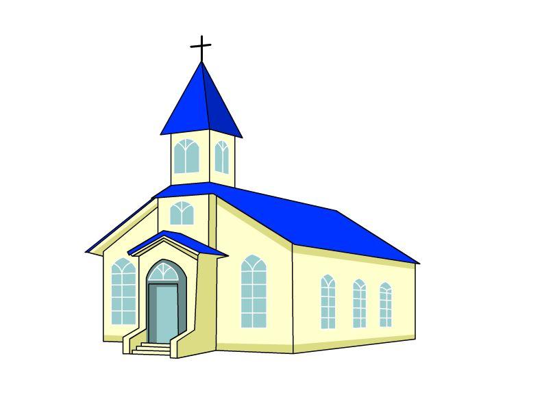 791x577 Draw A Church Churches