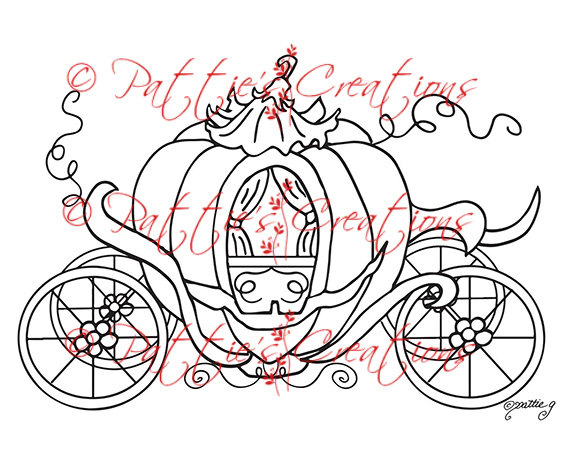 Cinderella Carriage Drawing At Getdrawings Com Free For