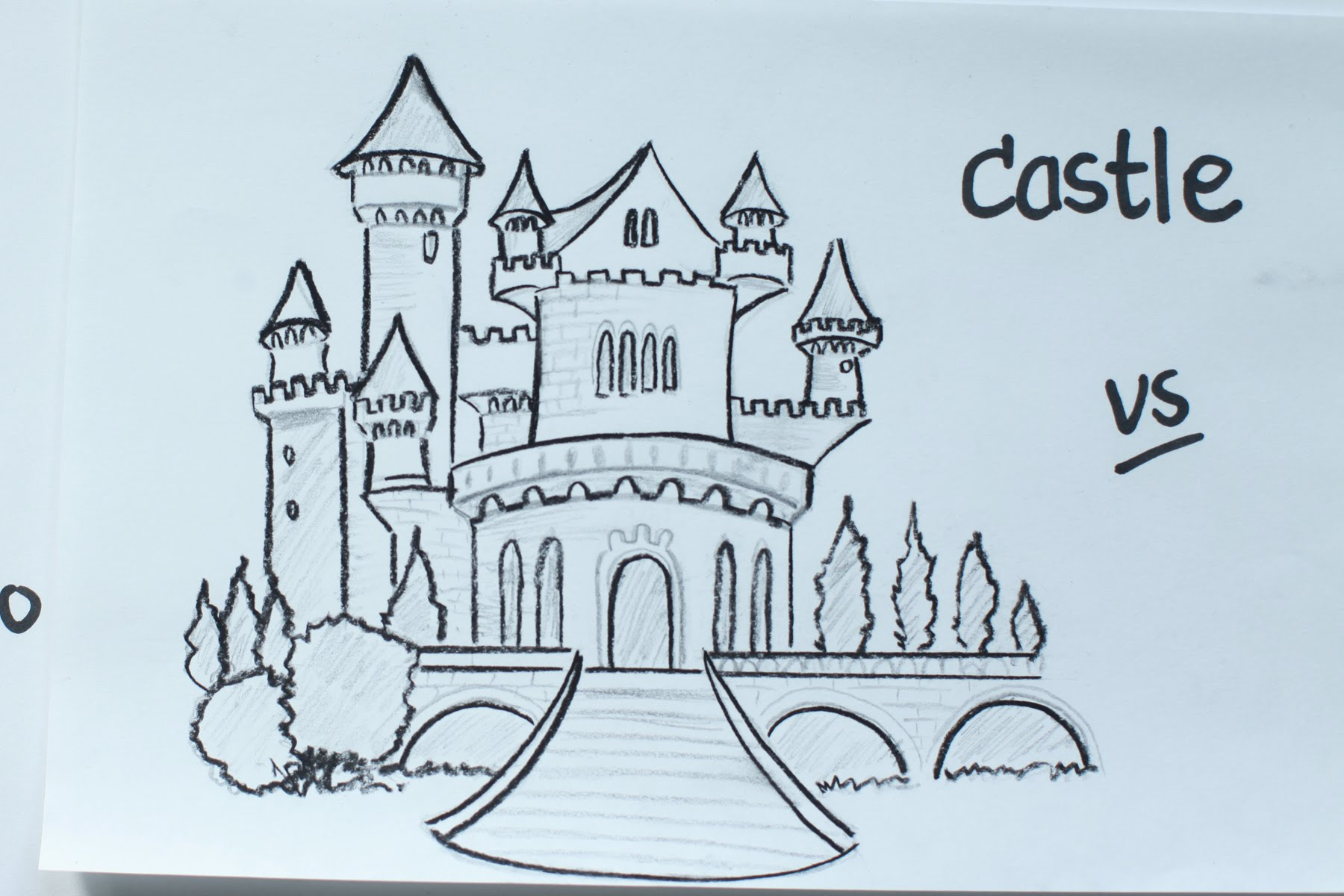 1800x1200 52 How To Draw A Disney Fairy Tale Castle Using Pencil Vivi