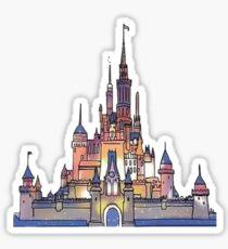 210x230 Disney Castle Stickers Redbubble