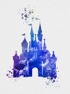 236x314 Disney Castle With Mickey Mouse Vinyl By Sheshevinylandthings