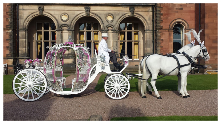 718x405 Cinderella Carriage Hire Horse Drawn Carriages, Uk