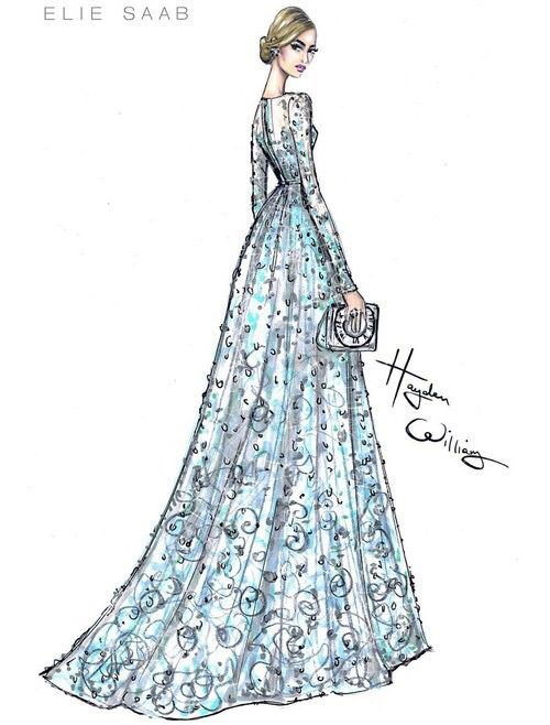 Cinderella Dress Drawing at GetDrawings.com | Free for personal use ...