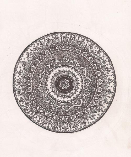 500x598 Henna Circle Drawing