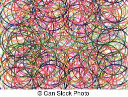 255x194 Background Circles. Drawing Of Abstract Background