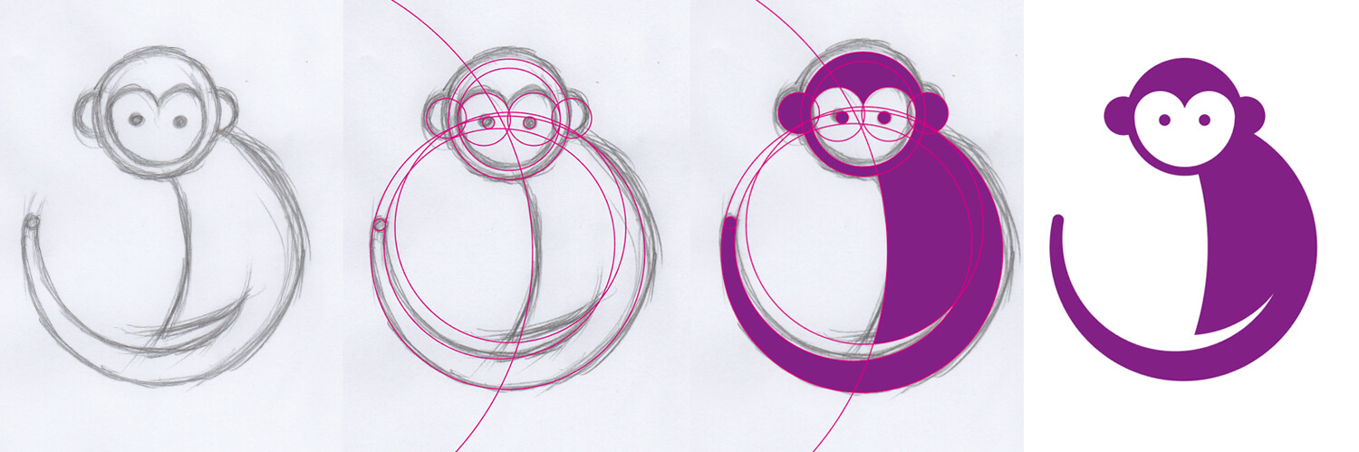 1500x499 Illustrating Animals With 13 Circles A Drawing Challenge