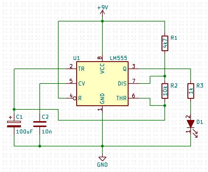 707x585 How To Draw A Circuit Diagram With Kicad For Beginners