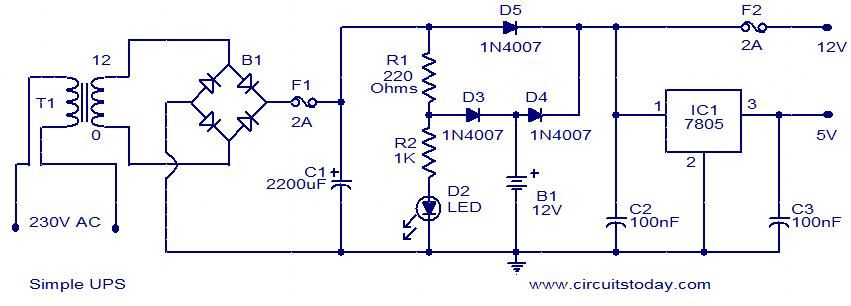 Circuits drawing at getdrawings free for personal use circuits 851x306 circuit diagram ups ccuart Images