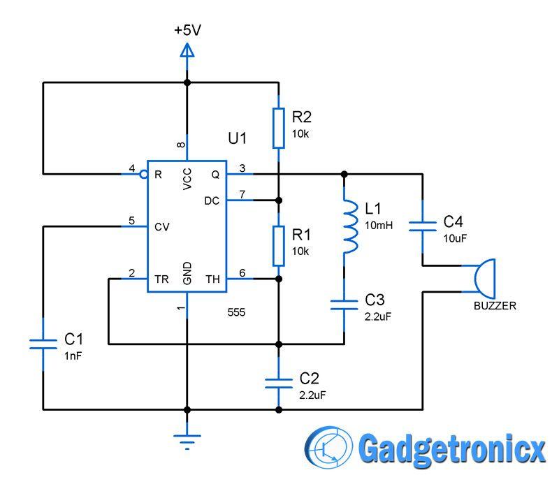 800x690 Metal Detector Circuit Using Ic 555 Circuit Diagram, Circuits