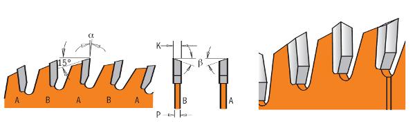 600x185 Industrial Circular Saw Blades Industrial Cut Off Atb Circular Saw