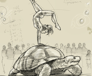 300x250 25 Images About Circus Drawings On We Heart It See More About