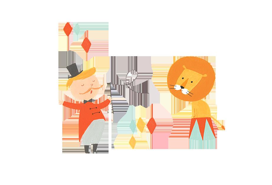 922x629 Lion Circus Drawing Illustration