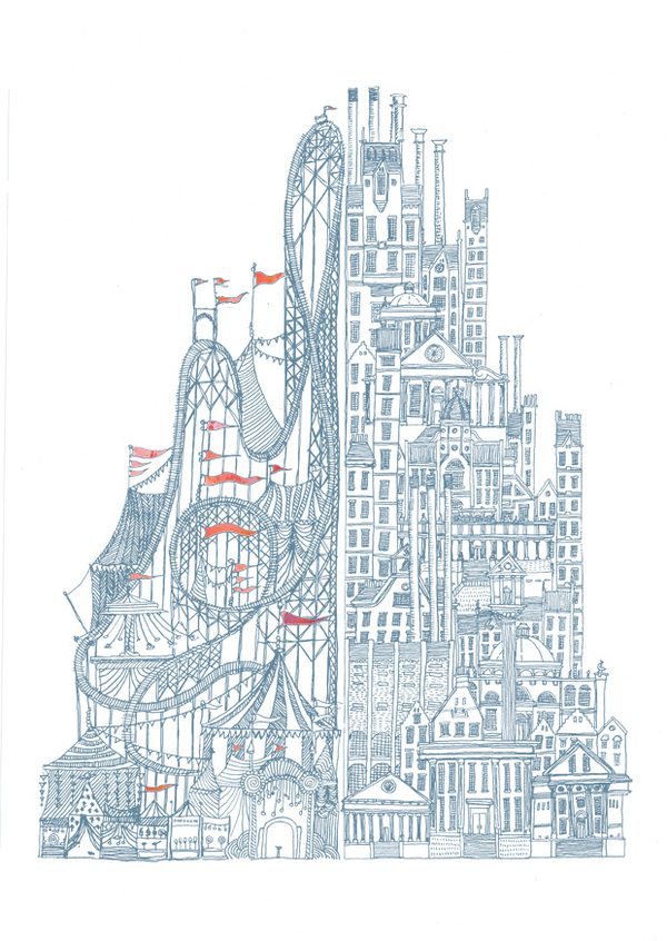 600x846 Illustrating Italo Calvino By David Fleck Art Love