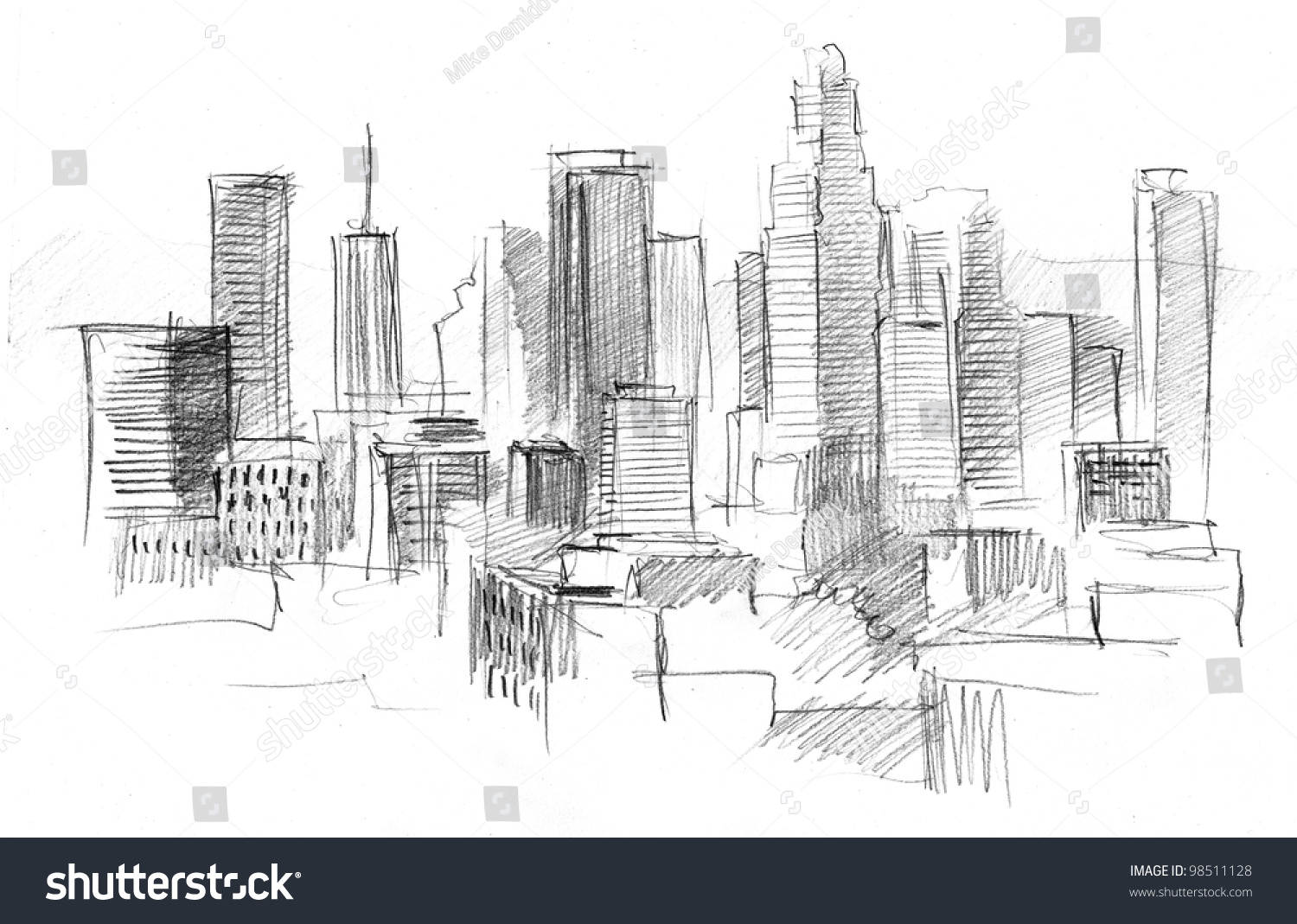 1500x1069 Photos Pencil Drawings Of Cities,