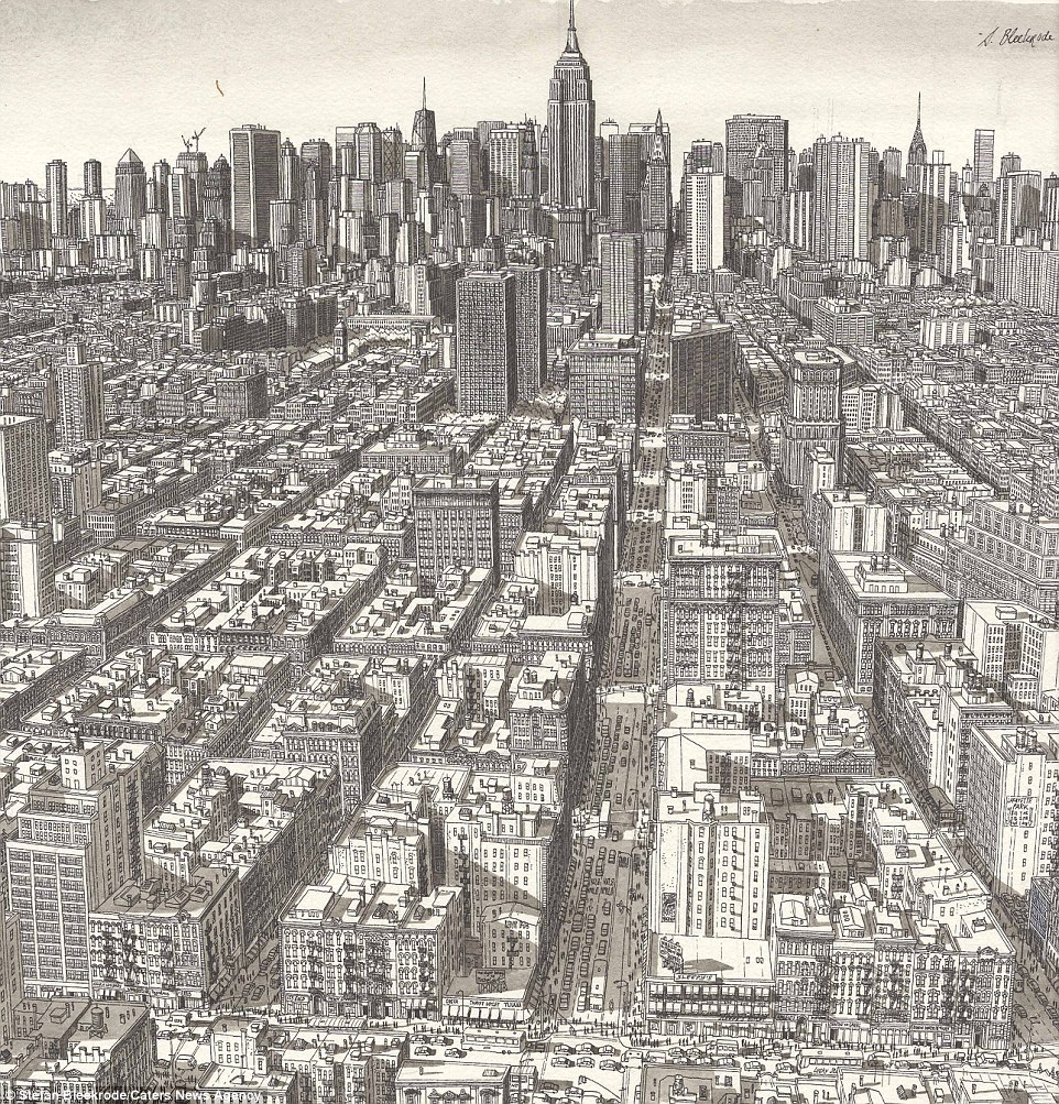 962x1003 Pictures Line Drawings Of Cities,