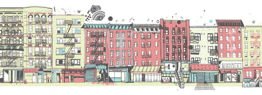 856x313 Drawing All The Buildings In New York