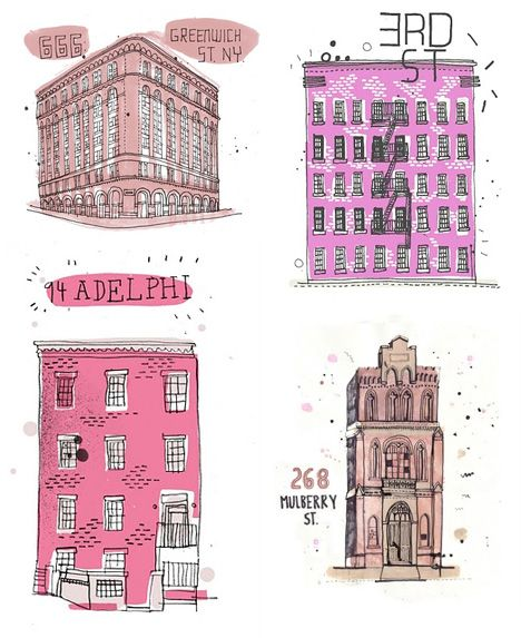 468x573 Drawing Conclusions Documenting Every Building In New York